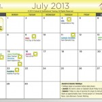 Calendar - Bill Dennis Cultural Selling July 2013